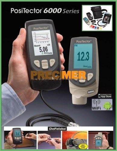 Rétegvastagságmérő DEFELSKO PosiTector 6000 F1 Standard