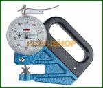 Fóliavastagság-mérő , analóg mérőórával,  0-0,1/0,001mm  Käfer F 1101/30-0.1