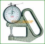Vastagságmérő analóg mérőórával, 0-5/0,001mm Käfer F50