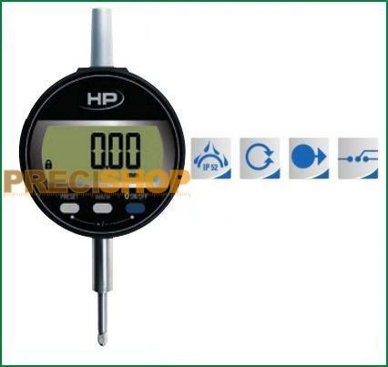Digitális mérőóra  IP 52 Preisser 0-12,5 mm 1722502  DIGI-MET® 601215001