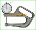 Vastagságmérő analóg mérőórával, 0-10/0,01mm Käfer J100