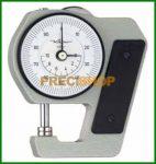 Vastagságmérő analóg mérőórával, 0-10/0,01mm Käfer J15