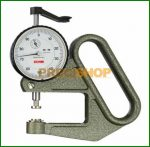Vastagságmérő analóg mérőórával, 0-10/0,01mm Käfer J50
