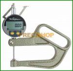 Vastagságmérő digitális mérőórával, 0-25/0,01mm Käfer JD100/25
