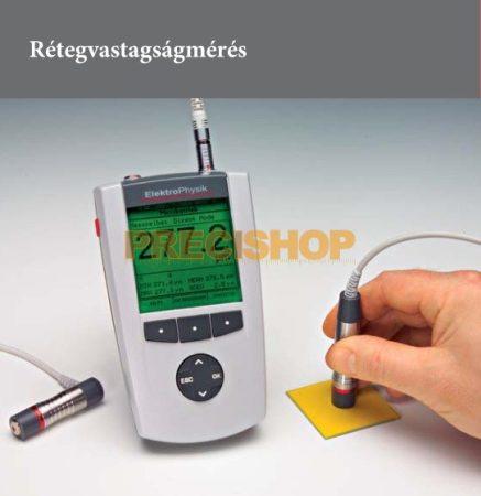 Rétegvastagságmérő alapműszer Elektrophysik  MiniTest_7400