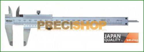 Mitutoyo Nóniuszos tolómérő rőgzitőcsavarral, 0-150mm 530-101
