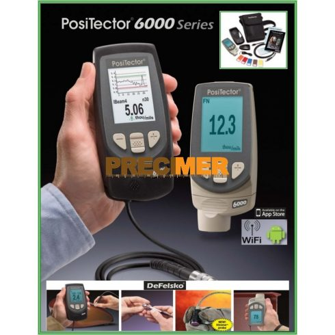 Rétegvastagságmérő DEFELSKO PosiTector 6000 NS1 Standard