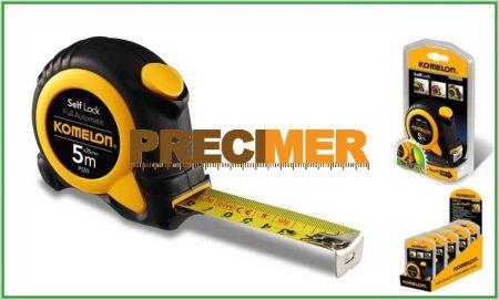 Hiteles mérőszalag 5m KOMELON  - PreciShop