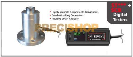 Nyomaték ellenőrző alapkészülék (Transducer) egyedi, kijelző nélkül, BMS  ST050  5-50Nm