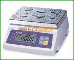 Hiteles asztali mérleg 1/2 kg, por és vízvédett mérleg IP65 | CAS SW-1W 2