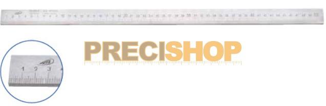 Image of Acélvonalzó, B-form. 500/1,0mm 25x5mm, DIN866 Helios-Preisser 0452201. alsó osztás;